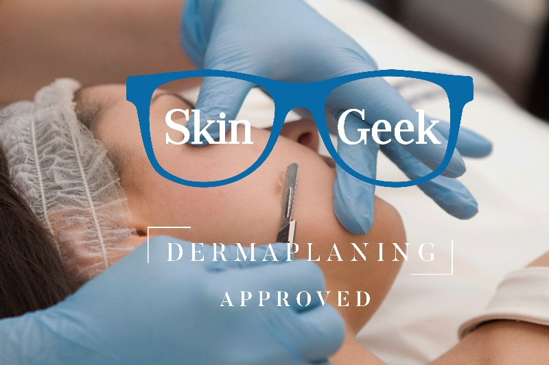 "Dermaplaning is a method of exfoliation that consists of using a 10 gauge scalpel to gently scrape off the top layer of dulling dead skin cells in order to reveal a smoother, brighter complexion. Sounds scary, right? It really isn't, as long as you're in the right hands. Dermaplaning is a favorite in the entertainment industry, specifically among models and actresses. Why? It also eliminates that annoying peach fuzz that cakes up in makeup and can be enhanced by harsh production lighting and high-definition cameras. "" Dermaplaning removes all the dead skin cells and also the facial hair, leaving the surface very smooth,"" explains Wright. Dermaplaning also allows for greater penetration of skincare products and creates a flawless canvas for makeup to glide on smoothly. In fact, cosmetic dermatologists often use dermaplaning to help prepare skin for more intrusive procedures such as laser treatments and chemical peels. Wondering if you should try  dermaplaning versus microdermabrasion? They are both forms of physical exfoliation, but the methods are very different. microdermabrasion sands and suctions dead skin cells, which also helps to uproot clogged pores around the nose, mouth and chin. Dermaplaning safely scrapes off the top layer of skin, so it is well suited for drier skin types and anyone who wants to get rid of peach fuzz. But, keep in mind, both methods are good for almost everyone and it could just boil down to your personal preference."